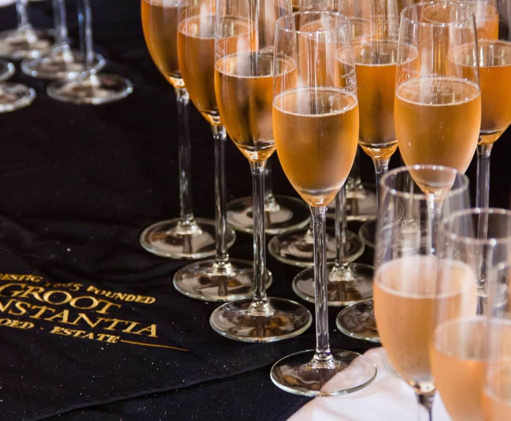 Cheers to Groot Constantia's Award Winning Method Cap Classique Brut Rosé