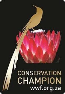 WWF Conservation Champion logo